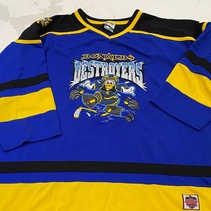 Hockey jersey Donald duck number 34 Disney